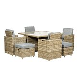 Swindon 8 Seater Dining Set with Cushions