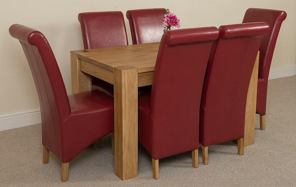 red barrel studio essgruppe trumer mit 6 st hlen bewertungen. Black Bedroom Furniture Sets. Home Design Ideas