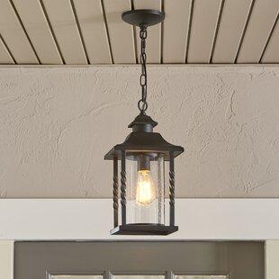 Barrow 1- Light Outdoor Hanging Lantern By Birch Lane™ Outdoor Lighting