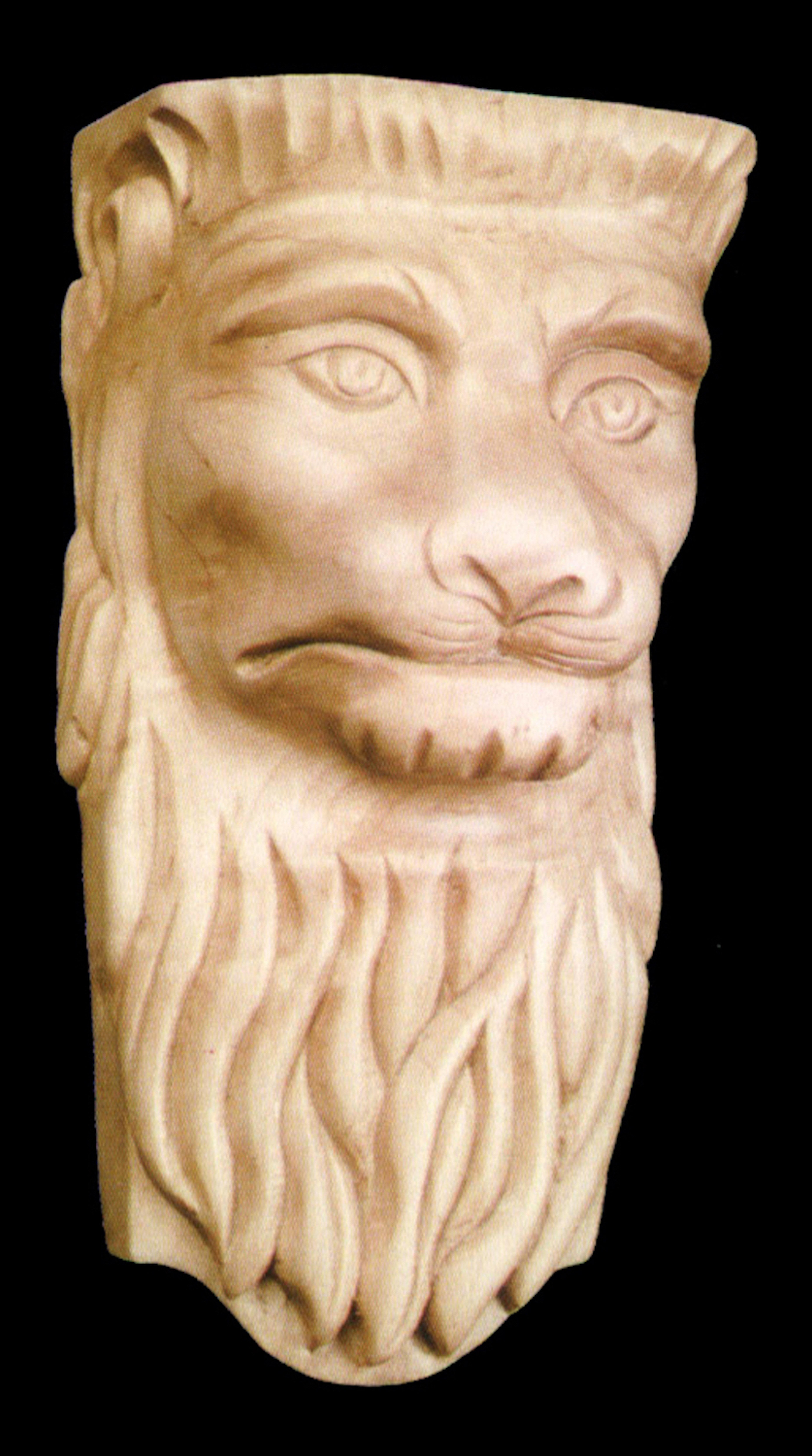 Alston Inc Lion Head 13 H X 6 3 4 W X 5 1 4 D Bracket Corbel Wayfair