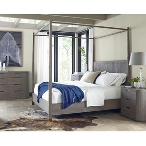 Palmer Queen Canopy Customizable Bedroom Set