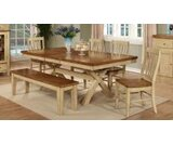 Sisler Extendable Solid Wood Dining Table by August Grove®
