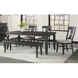 Southborough 6 Piece Solid Wood Dining Set