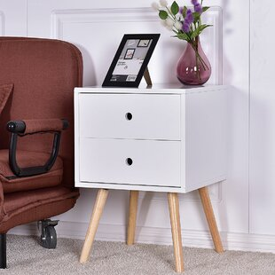 Reading End Table with Storage
