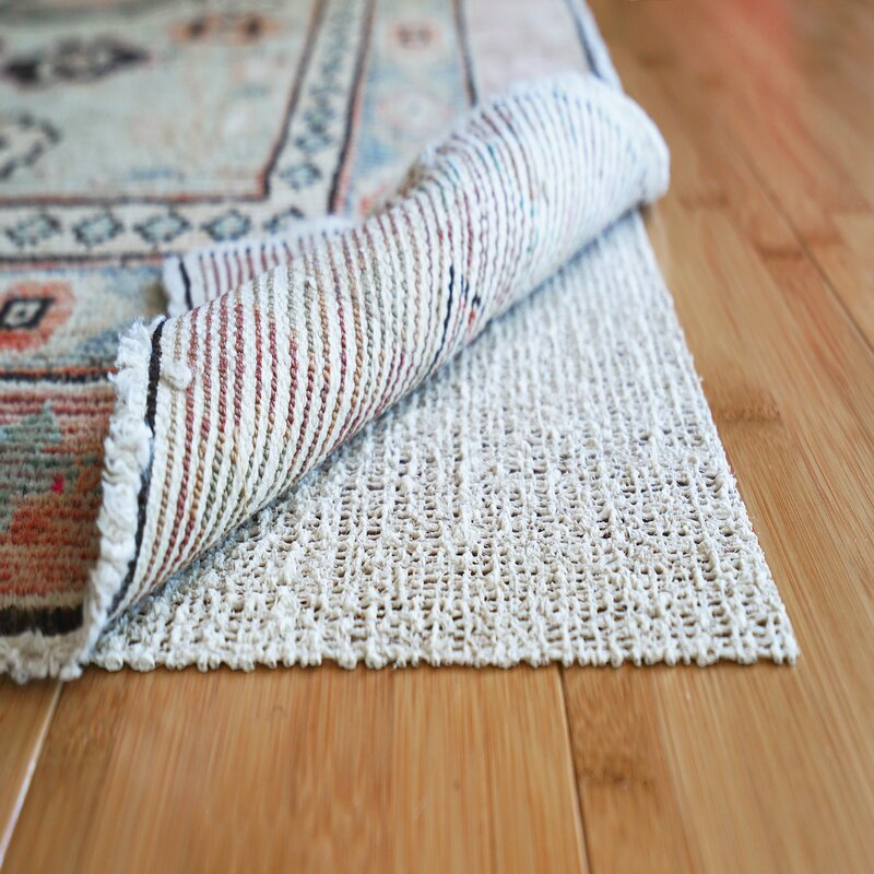 Nature S Grip Non Skid Jute And Natural Rubber Eco Friendly Rug Pad 0 125