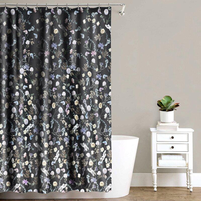 house of hampton® rideau de douche en tissu simple ena et