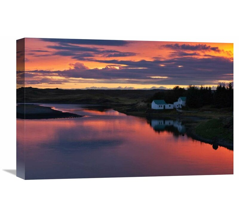 Global Gallery White River By Brin Ingibergsson Bragi Photographic Print On Wrapped Canvas Wayfair