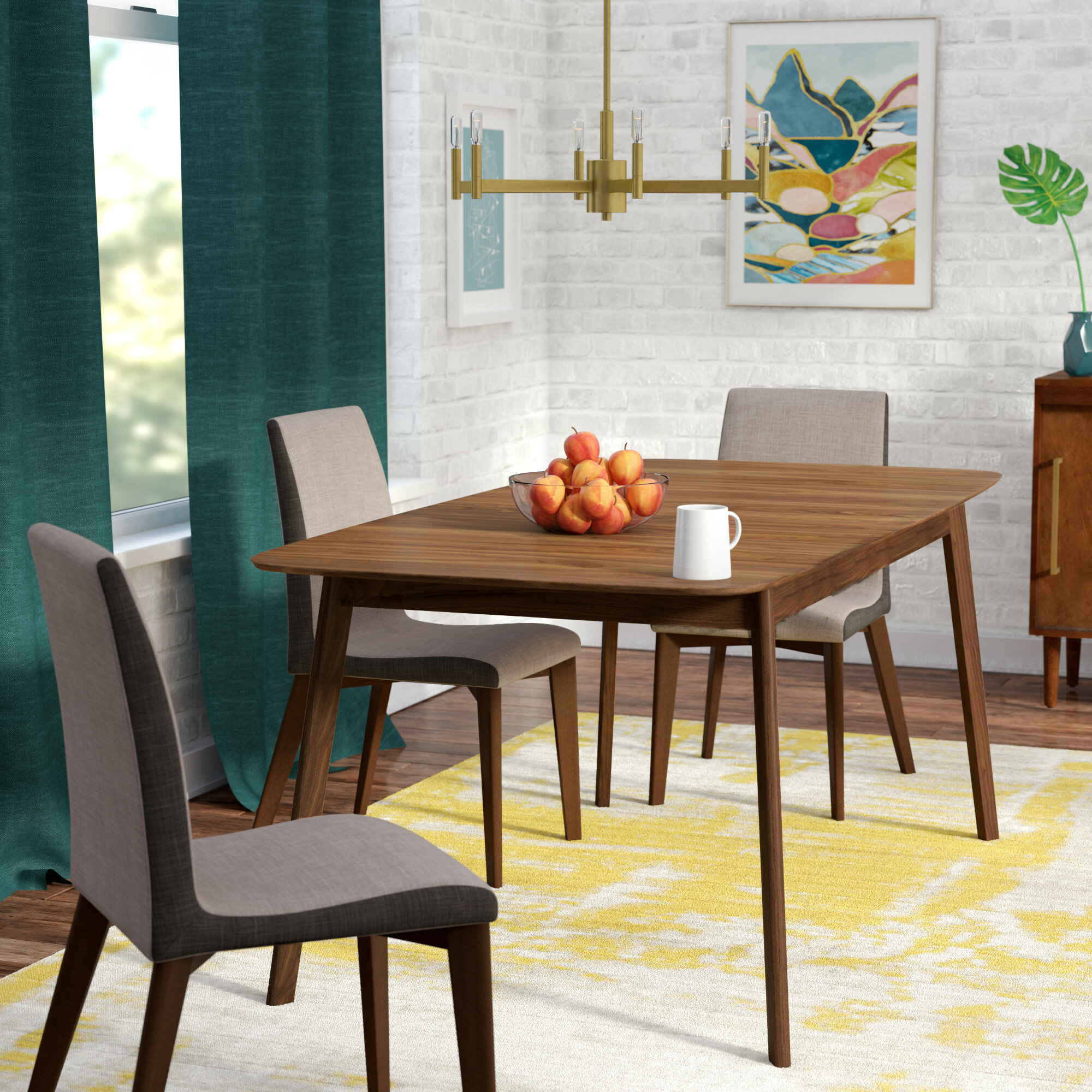 Extendable Mid Century Modern Kitchen Dining Tables You Ll Love In 2020 Wayfair