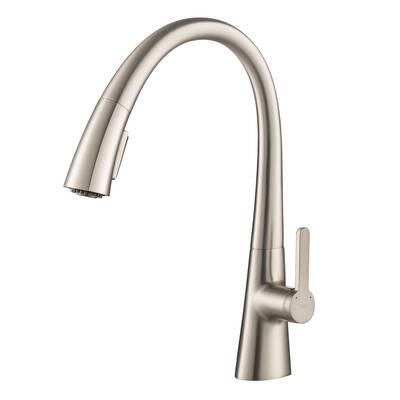 Kraus Nolen Pull Down Single Handle Kitchen Faucet Reviews Wayfair
