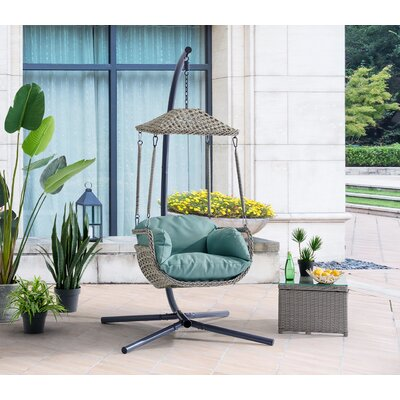 Swing Chair With Stand by Dovecove Wonderful