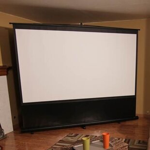 Comparison Reflexion Series Maxwhite 110 diagonal Portable Projection Screen By Elite Screens