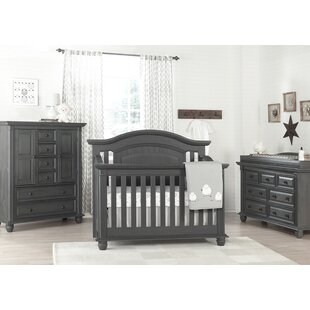 Teignmouth 4-in-1 Convertible Crib by Harriet Bee