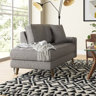 Read Reviews Mock Chaise Lounge by Wade Logan Reviews (2019) & Buyer's Guide