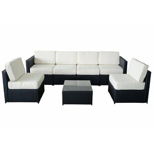 MCombo  5 Piece Sectional Set with Cushion by Newacme LLC