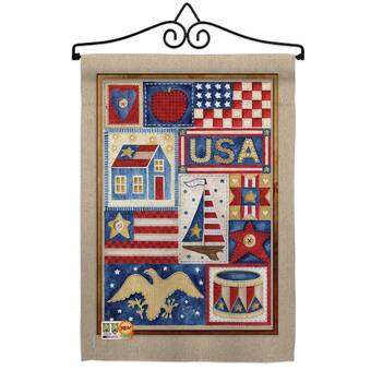 Breeze Decor American Korea Friendship Impressions Decorative 2 Sided 18 5 X 18 5 In Polyester Flag Set Wayfair