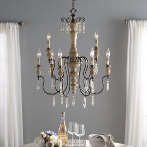 Grateron 9-Light Candle-Style Chandelier