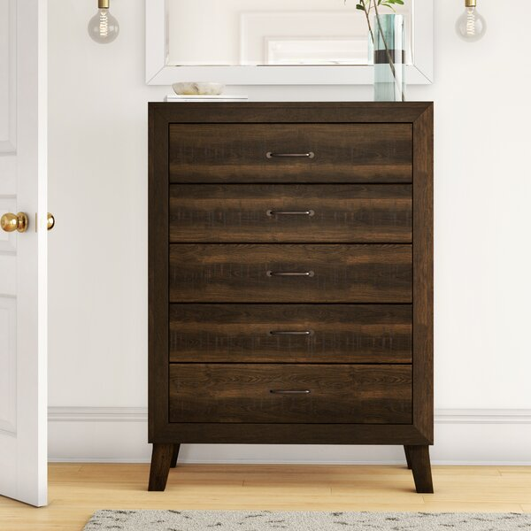 Dory 5 Drawer Chest by Foundstone™