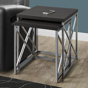 Order 2 Piece Nesting Tables By Monarch Specialties Inc.