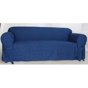 Authentic Box Cushion Sofa Slipcover