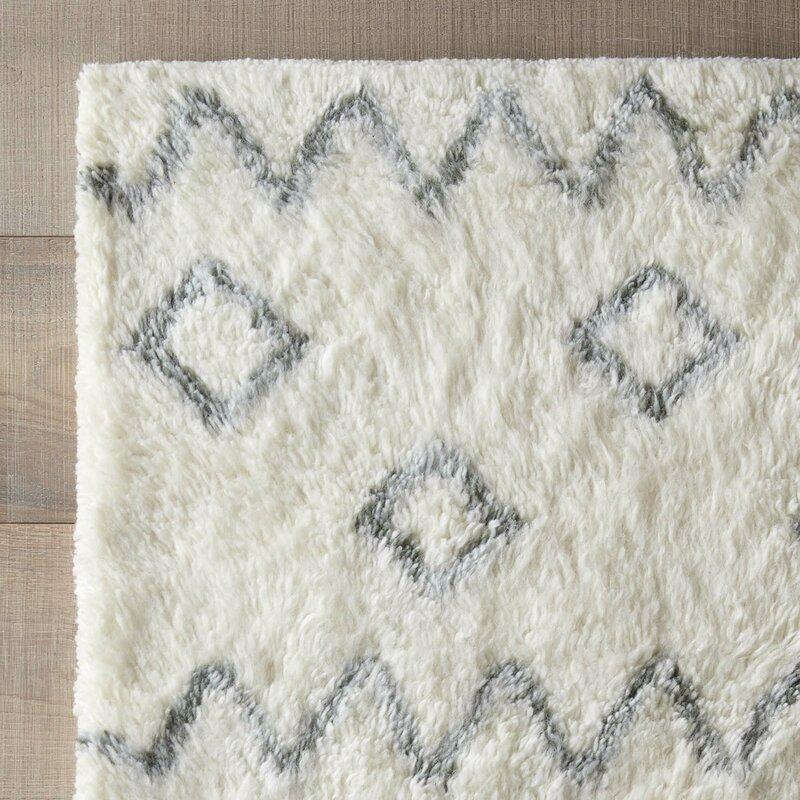 busick shag area rug