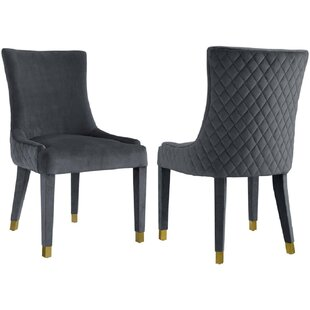 Ina Upholstered Dining Chair (Set of 2) by Everly Quinn
