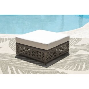 Maldives Outdoor Ottoman with Cushion
