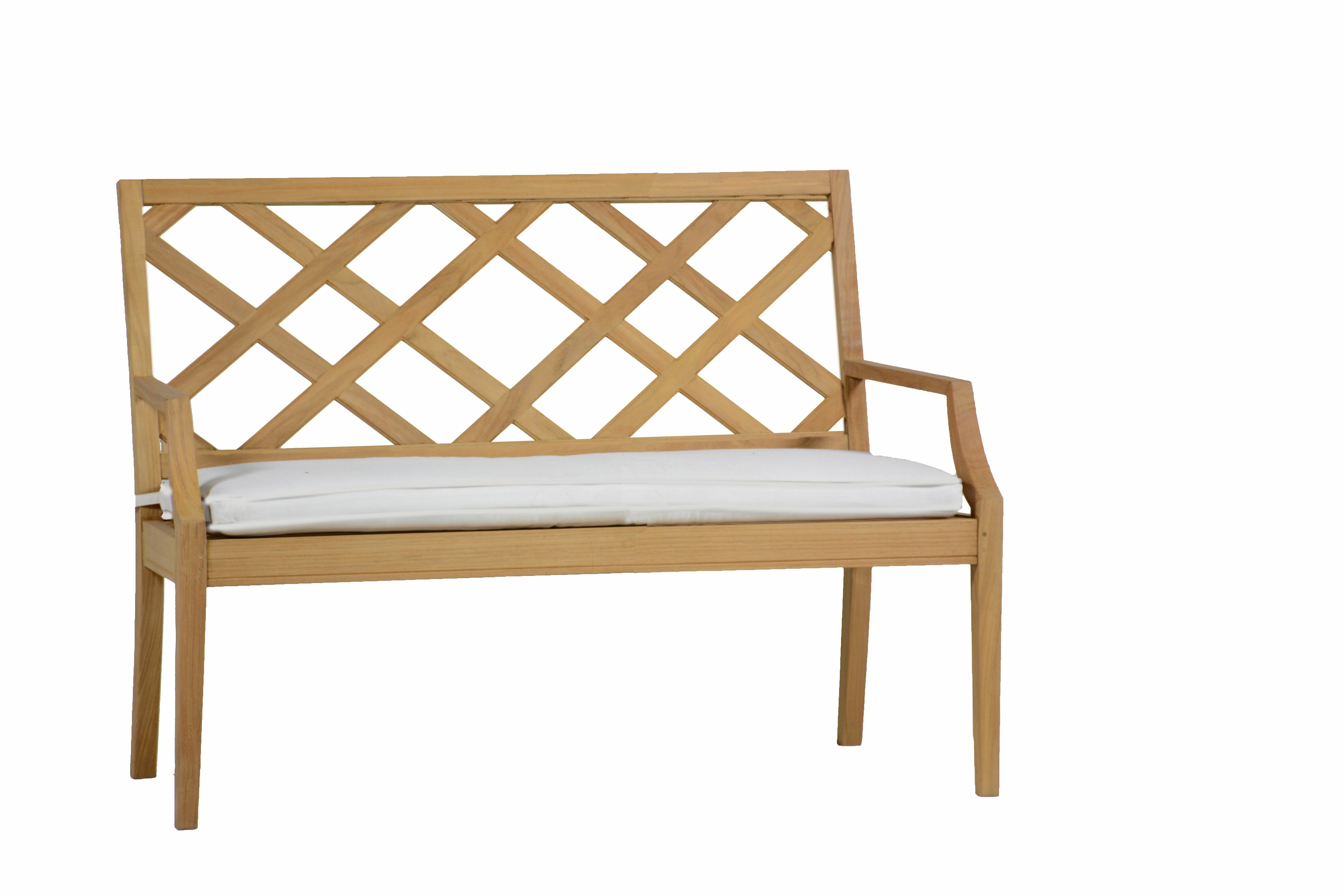 Wondrous Haley Teak Garden Bench Pabps2019 Chair Design Images Pabps2019Com