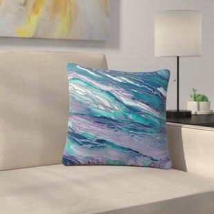 Agate Magic Throw Pillow