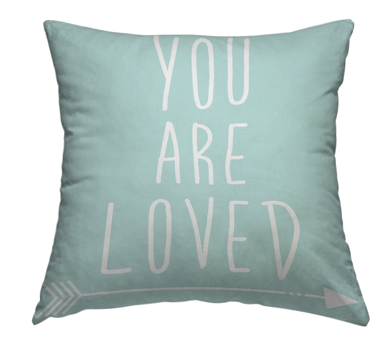 East Urban Home You Are Loved Throw Pillow Wayfair