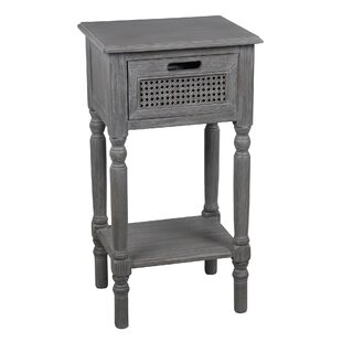 Meddebemps 1 Drawer End Table