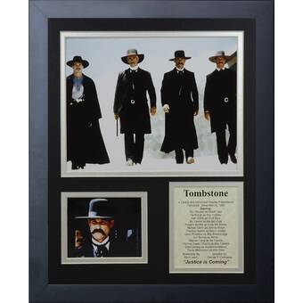 LuxeWest Tombstone Cast Autographed Movie Poster | Wayfair