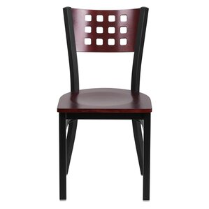 Taylor Solid Wood Dining Chair by Ebern Designs