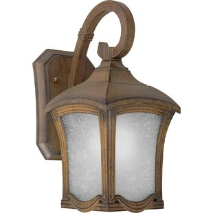 Shopping for Doric 1-Light Outdoor Wall Lantern By Charlton Home