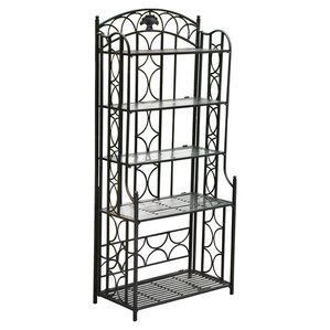 Saundra 5 Tier Indoor/Outdoor Bakers Rack by Fl..