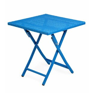 Look for Tangier Folding Wicker Side Table Reviews