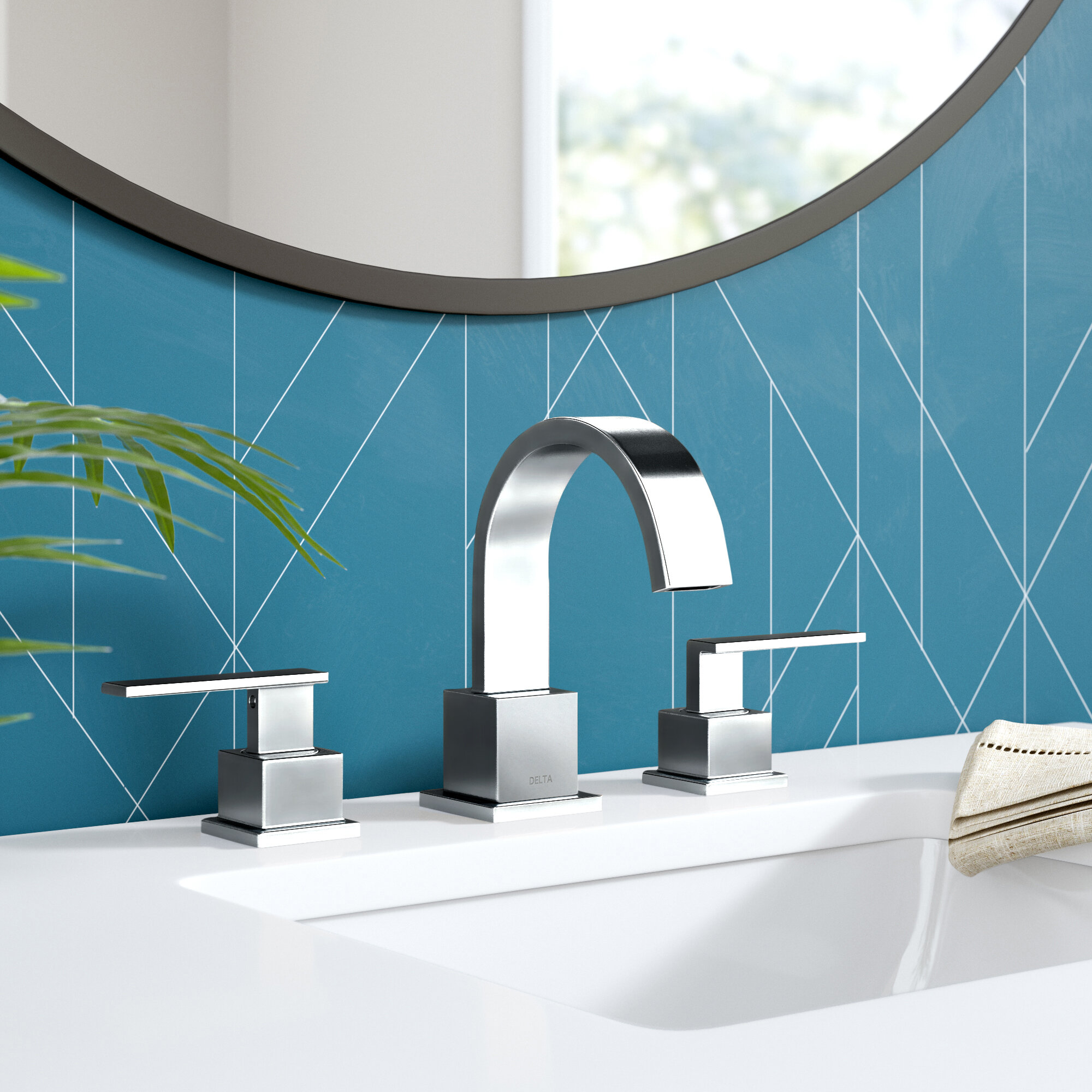 Vero Widespread Bathroom Faucet With Drain Assembly Reviews Allmodern