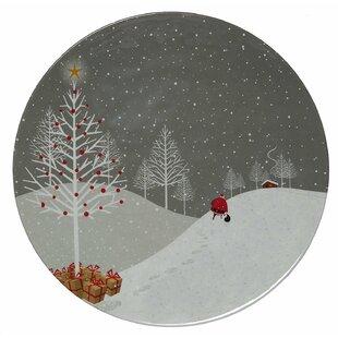 berkman santa comes home melamine dinner plate set of 6