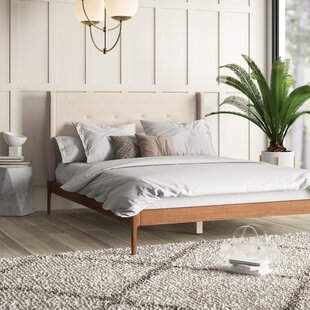 Affordable Ellerman Upholstered Platform Bed by Mercury Row Reviews (2019) & Buyer's Guide