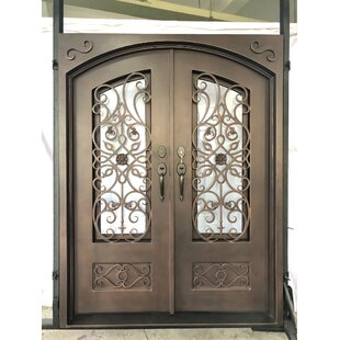 Iron Prehung Front Entry Doors