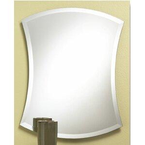 Prometheus Concave Contemporary Frameless Bathroom Mirror