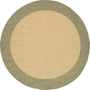 Celia Moss Green/Tan Area Rug by Beachcrest Home