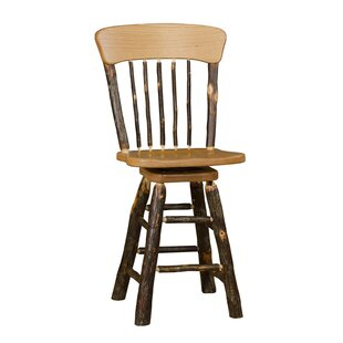Teme 30 Swivel Panel Back Bar Stool
