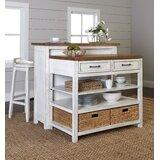 Trisha Yearwood Home 4 Piece Kitchen Island Set by Trisha Yearwood Home Collection