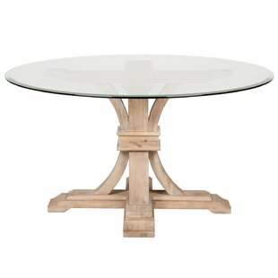 parfondeval 54 round glass dining table - Glass Round Dining Table