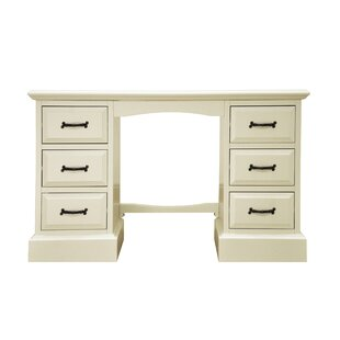 Luise 6 Drawer Double Pedestal Dressing Table