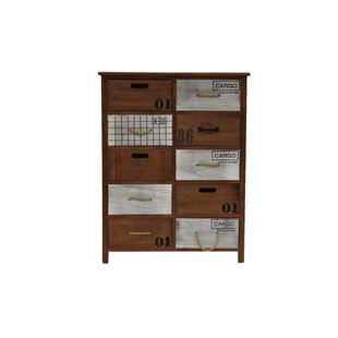 Darryl 10 Drawers Accent Chest