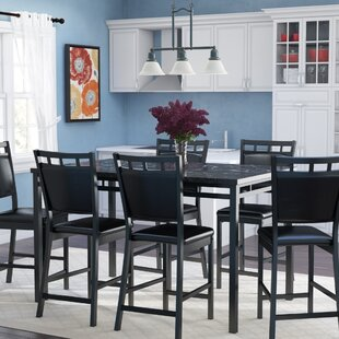 Pickerington 7 Piece Counter Height Dining Table Set Winston Porter
