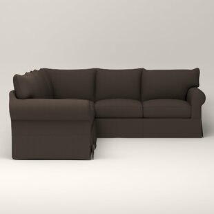 Jameson Slipcovered Sofa with Chaise