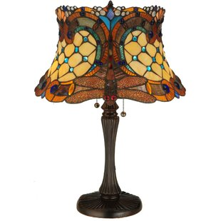 Tiffany Hanginghead Dragonfly 22.5 Table Lamp