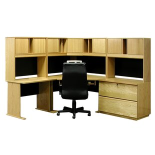 Office Modulars Computer Desk With Hutch And Chair Set by Rush Furniture 2019 Coupon